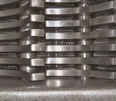 Munson rotary de-clumper blades