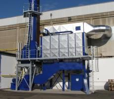 MikroPul FS industrial dust collector