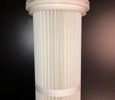 WelTech is a method of attaching outer retainers to pleated air filters.