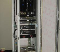 NovaTech PCM 4200 with cabinet open