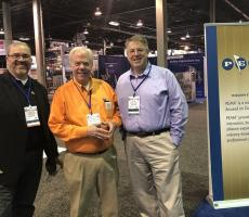 Todd Reed, National Bulk Equipment, Charlie Ingram, Eriez, Steve Ragan, Sly Inc.