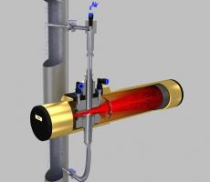 Xoptix in-line particle size analyzer
