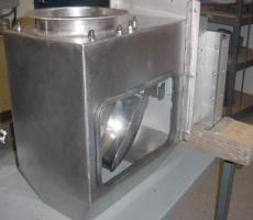 The CentriFlow Type II meter can be installed in under 19 in. of vertical space.