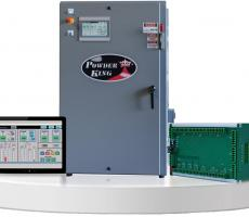 Powder King introduces the proprietary EC200 operating control system.