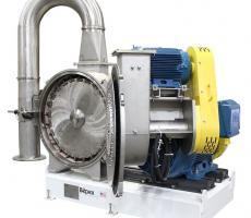 Bepex Pulvocron air-classifying mill
