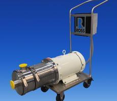 Ross Model HSM-410 inline high shear mixer