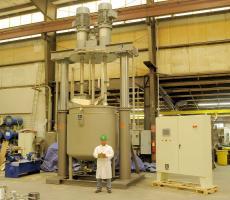 Ross triple-shaft mixer