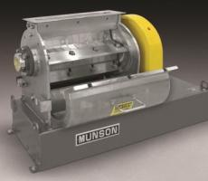 Munson Machinery's stainless steel rotary knife cutter
