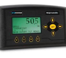 Scale weigh controller for net and gross weigh operations