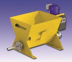 Scaletron Model VMF-90C volumetric screw feeder