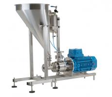 Silverson Machines FMX-CD chemical-duty version of its Flashmix powder/liquid mixer