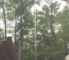Photo 1: 40-ft tall drop test