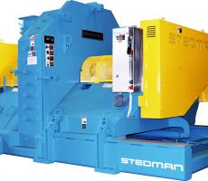 Stedman heavy-duty six-row cage mill