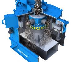 Stedman vertical shaft impactor with anvil ring