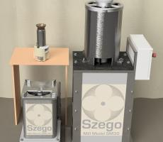 Szego Materials Engineering Inc. produces three sizes of The Szego Mill