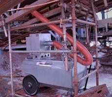 Thermo-Tech Model MH-400 mobile conveyor belt heater/deicing system