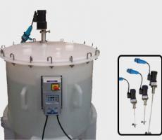 White Mountain Process pre-engineered, ultra-lightweight GMP sanitary mixer