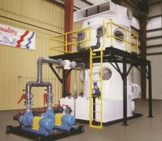 Tri-Mer Corp. standard line of packed tower scrubbers
