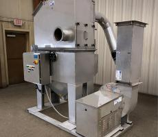 "Tri-Mer Corp. all-stainless steel ""MCD"" Whirl Wet dust collector"