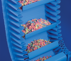 The belt is arguably the most important component of a food-grade conveyor, since it has direct contact with the product. Material like FDA-approved polyurethane helps ensure the conveyor meets strict hygienic requirements.