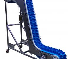 UniTrak KleanTrak sanitary vertical belt conveyor