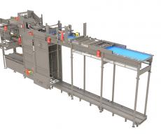 Busse SJI Viper high-speed bulk palletizer