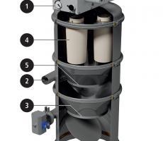 Fig 1: Operating principle of a vacuum conveyor