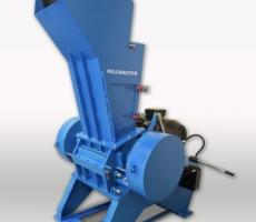 The new Vulcanator KM10 heavy-duty granulator