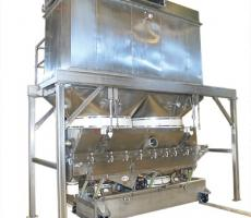 This Witte drying system features an integral baghouse dust collector.