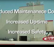 Video from Solimar highlights safety and cost savings of disk-type fluidizers.