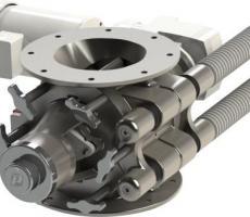 Prater sanitary rotary valve