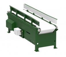 Vibratory belt conveyor table