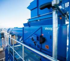 VecoBelt belt conveyors are suitable for transporting all types of bulk material.