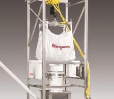 Flexicon's Bulk-Out bulk bag discharging system