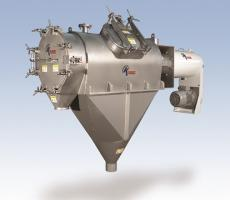 Kason Corp. quick-clean Centri-Sifter centrifugal sifter with cantilevered shaft