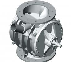 Coperion has optimized its ZVB rotary valve design.