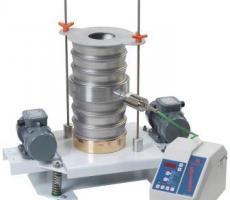 Cleveland Vibrator Co.'s dual-drive lab shaker