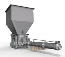 HAF Equipment's gravimetric enrobing feeder