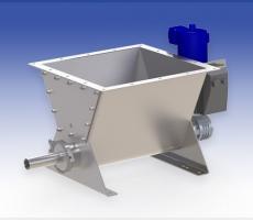 Scaletron Model VMF-90A volumetric screw feeder