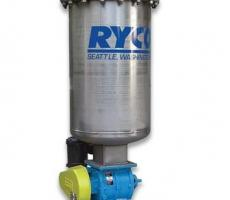 Ryco vacuum cleaning system with Smoot FT-7 Type 1 rotary valve