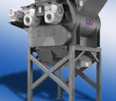 The CrossMix high-efficiency fluidizing mixer