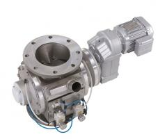 The DMN HP high-pressure rotary airlock valve