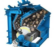 There are many different crushing chamber designs for HSI but they all have an impact rotor and aprons.
