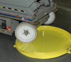 The 20-gal Tank Trap is newest addition to the Andax line of portable containment pools.