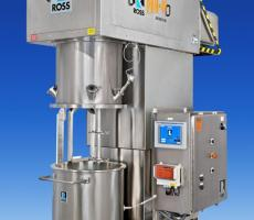 Ross PowerMix planetary dispersers with PLC recipe controls