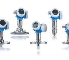 Endress+Hauser introduces the 80 GHz Micropilot FMR6x free space radar level instrument.