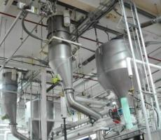 Pneumatic conveying systems includes a programmable logic controller (PLC), or programmable relay, that handles complex information, dictating the sequence of events to occur, and can provide customers the ability to download data for evaluation.