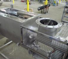 Ajax Equipment's custom powder sifter for pharmaceutical applications.