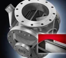Pelletron's low-leakage rotary valve