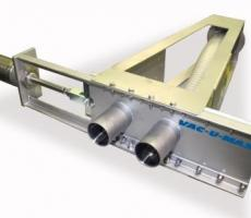 The Vac-U-Max slide-plate diverter valve